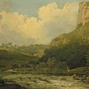 High Tor, Matlock, 1811 Art Print