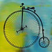 High Wheel Bicycle Art Print