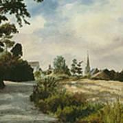 Higham Upshire Art Print