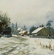 Higham Winter 86 Art Print