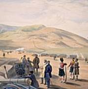 Highland Brigade Camp, Plate From The Art Print