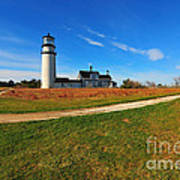 Highland Point Light Art Print