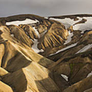 Highlands Fjallabak Nature Reserve Art Print