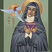 St. Hildegard Of Bingen 171 Art Print