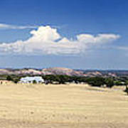 Hill Country And Enchanted Rock Panorama Art Print