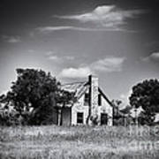 Hill Country Homestead Art Print