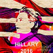 Hillary Clinton 2016 Art Print