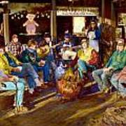 Hillbilly Happy Hour Art Print
