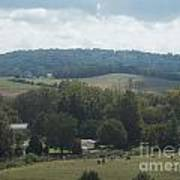 Hills In Tennessee Art Print