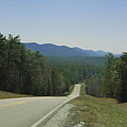 Hills Of Talladega National Forest Alabama Art Print