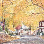 Hillside Avenue Staten Island Art Print