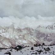 Himalayan Sherpa Memorial Art Print