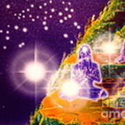 Himalayan Yogi's Art Print