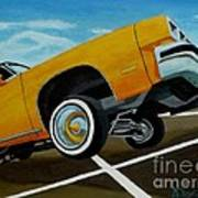 Hip Hoppin Chevy Art Print