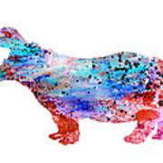 Hippo 3 Art Print
