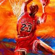 His Airness Art Print by Lourry Legarde