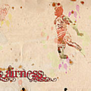 His Airness - Michael Jordan Art Print by Paulette B Wright