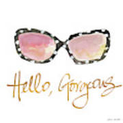 His And Her Sunglasses I Art Print