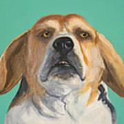 His Beagleness Art Print