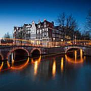 Historic Amsterdam Art Print