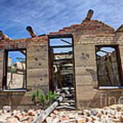 Historic Building Nine Mile Canyon - Utah Art Print