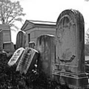 Historic Cemetery Art Print