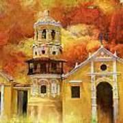 Historic Center Of Santa Cruz De Mompox Art Print