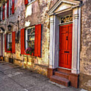 Historic Charleston - Pirate House Art Print