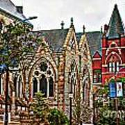 Historic Church St Louis Mo 2 Art Print