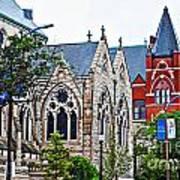 Historic Churches St. Louis Mo 1 Art Print