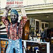 Historic Eagle Point Art Print