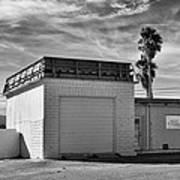Historic Estrella Gas Station Desert Hot Springs Art Print