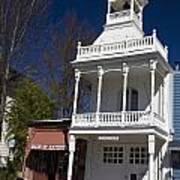 Historic Firehouse No. 1 Nevada City California Art Print