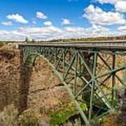 Historic Highway Bridge Art Print