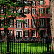 Historic Homes Of Beacon Hill, Boston Art Print