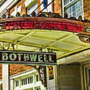 Historic Hotel Bothwell Art Print