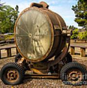 Historic Military Spotlight - Fort Stevens - Oregon Art Print