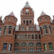 Historic Old Red Courthouse Dallas #1 Art Print