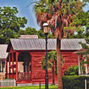 Historic Pensacola With Added Color Art Print