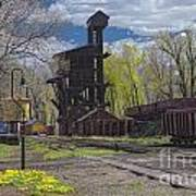 Historic Railroad Art Print