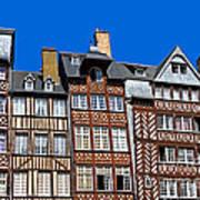 Historic Rennes Art Print by Jane Rix