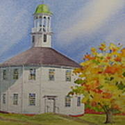 Historic Richmond Round Church Art Print