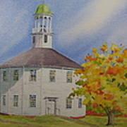 Historic Richmond Round Church Art Print