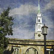 Historic Savannah Church Art Print