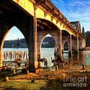 Historic Siuslaw River Bridge Art Print