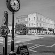 Historic Small Town In South Where Art Print