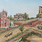 Historic Street - Lawrence Ks Art Print