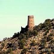 Historic Tower Of Grand Canyon Art Print