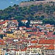 Historic Town Of Sibenik Panorama Art Print