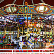 Historical Carousel In Tennessee Art Print